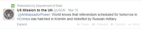ambasaador tweet