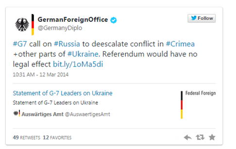 nervous germany tweet
