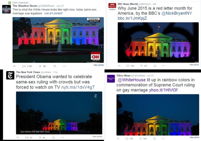 white house adorned