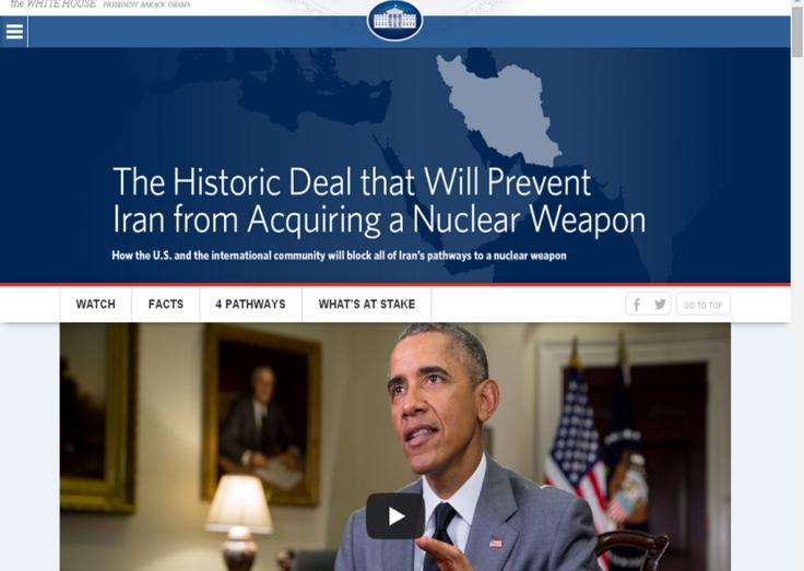 white house iran dedictaed